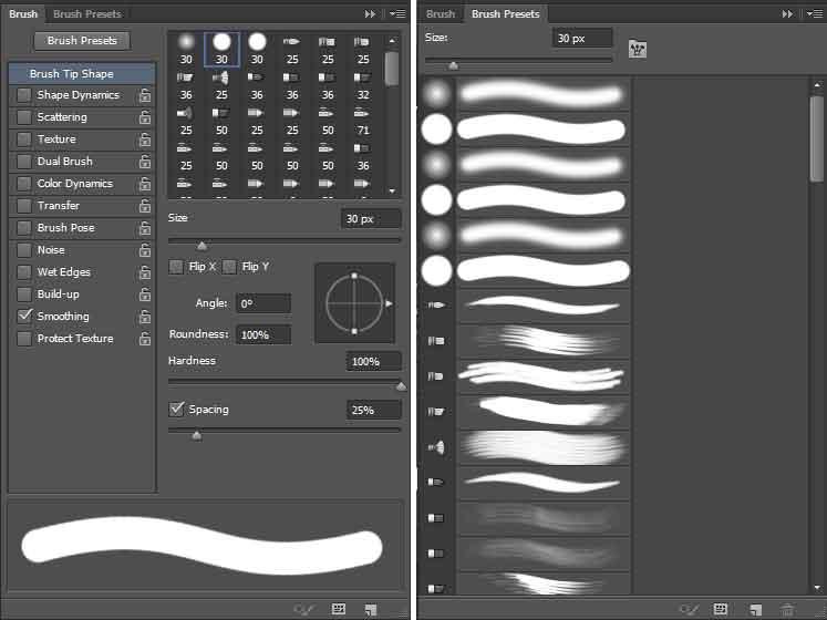 adobe photoshop brush presets