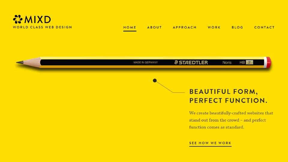 simplicity in web design