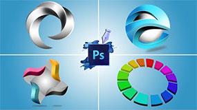 3D Logo Design Inspirations | Photoshop | Webtrickshome