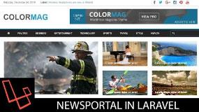 News Portal In Laravel | Tutorial | Lesson 1 | Project Setup | webtrickshome