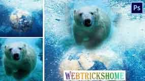 Gradient Tool And Paint Bucket Tool Photoshop | Webtrickshome