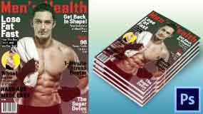 Easy Magazine Cover Design In Photoshop | Webtrickshome