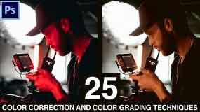 25 Color Grading And Color Correction Techniques In Photoshop | Webtrickshome